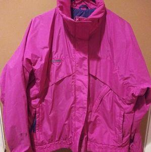 Columbia Sportwear Co. Jacket Hot Pink Size Large